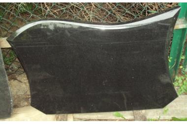 Tablica nr T54 czarna Absolut Black