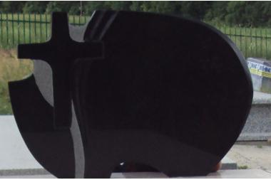 Tablica nr S62 czarna Absolut Black