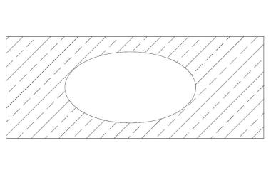 Otwór blatowy kołowy, owalny, nerkowy