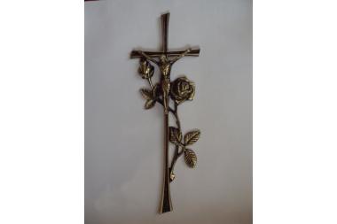 Krzyż mosiężny A-11