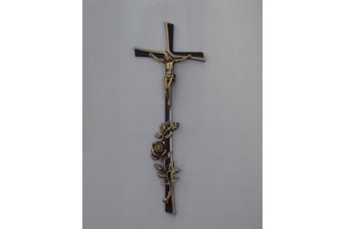 Krzyż mosiężny A-24