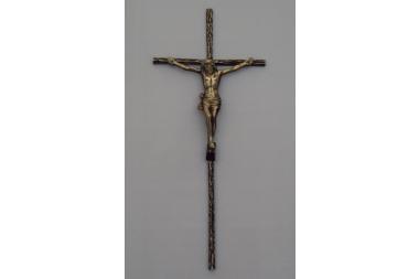 Krzyż mosiężny A-25