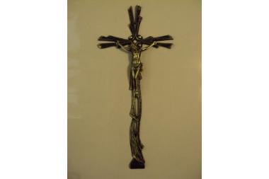 Krzyż mosiężny A-54