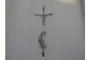 Krzyż srebrny C-6