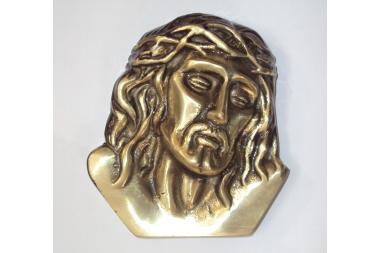Głowa Chrystusa mosiężna (G-8)